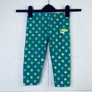 Nike Girl's 6X Pants Polka Dot Stretch 36B847-E5D